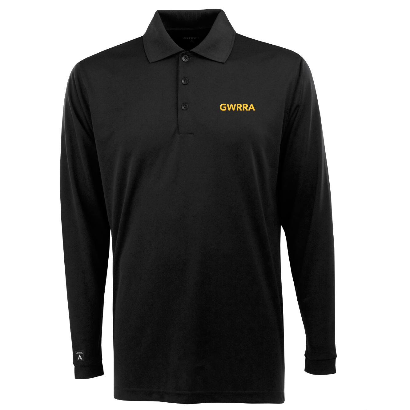 Black Long Sleeve Exceed Polo
