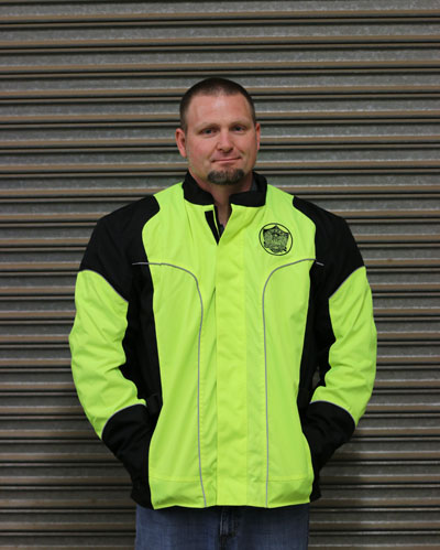 Men's outer jacket and inner jacket-inset